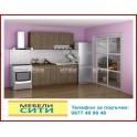 Кухненски горен шкаф 30 см. с врата и рафт