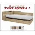 Легло СИТИ 2002 в цвят дъб дакота